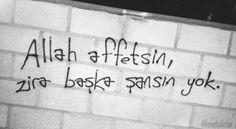 Şiir Gökyüzünde Real Love, Wall Quotes, Motto, Cool Words, Allah, Amen, Tattoo Quotes, Street Art, Writing