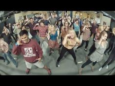 Big Bang Theory flash mob.  If it doesn't bring a smile to your face, for shame!