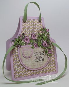 Our Daily Bread Designs Exclusive Apron and Tools Die | March 2013 ...