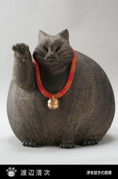 招き猫現代作家展◆紅白対抗招き猫合戦