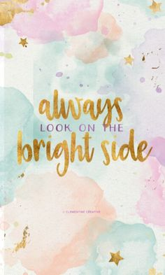 The bright side is the best perspective 😎😎😎😘😘😘
