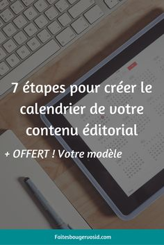 Apprenez comment créer un calendrier de contenu pour votre blog et le développement de votre entreprise