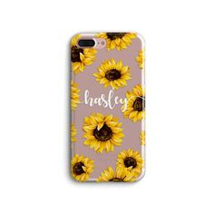 iPhone 11 case Personalized iPhone 11 Pro Max Case Floral iPhone 11 Pro case Custom name iPhone XR iPhone X iPhone 8 iPhone Xs Max Sunflower Apple Iphone, New Iphone, Iphone Se, Iphone 7 Plus Cases, Iphone 11 Pro Case, Coque Iphone 5s, Accessoires Iphone, Mini Case, Middle