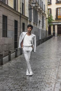 Vini Uehara wearing Guidomaggi Luxury Elevator... | MenStyle1- Men's Style Blog