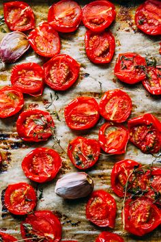 If you have ever roasted juicy vine tomatoes in the oven until they're nice and sweet, you're probably hooked on them like me. I love the simplicity of this recipe. All you need is good quality, ripe and juicy tomatoes, a little fruity olive oil, garlic, lemon and herbs and you have yourself one of theContinue Reading