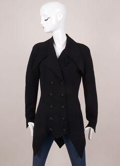 Karl Lagerfeld Jacket has zig-zag hemline – Luxury Garage Sale
