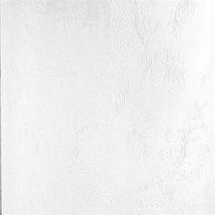Karimah White Jacobean Wallpaper