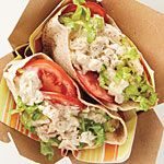 Tuna-Salad Pita Reci