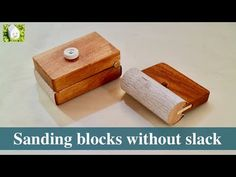 【DIY】たるまず張れるサンドペーパーホルダーを作る/Making sanding blocks without slack Wooden Hand, Wooden Diy, Sanding Block, Hand Tools, Slacks, Floating Nightstand, Woodworking Projects, Projects To Try, Workshop