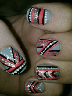 Tribal nails :)