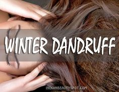Winter Dandruff  - In a bowl, mix 2tbsp of apple cider vinegar with 1 tbsp of water and few drop of tea tree oil (optional).  Dip a cotton ball and apply the mixture to the roots of your hair.  Massage the roots with your finger tips for few mins to scrub off dry, flaky skin. Leave the mixture for 5-10 mins before you rinse with warm water.