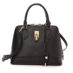 Samantha Thavasa サマンサタバサ レディアゼル 小(ブラック) -Samantha Thavasa Online Shop- I have this bag in big version and I LOVE it!
