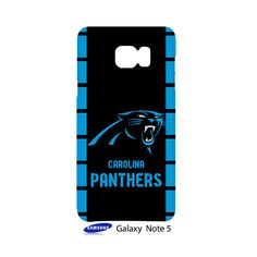 Carolina Panthers Samsung Galaxy Note 5 Case Cover Wrap Around