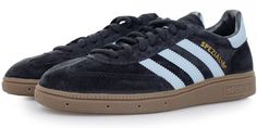 Adidas Spezial trainers reissued in a dark navy colourway Adidas Spezial, Vintage Sportswear, Vintage Adidas, Classic Man, Dark Navy, Men Fashion, Me Too Shoes, 1970s, Trainers