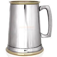 Engraved Brass and Pewter Pint Tankard  from Personalised Gifts Shop - ONLY £29.95