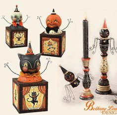 johanna parker design im obsessed with vintage halloween - Halloween Vintage Decorations