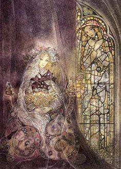 sulamith+wulfing+art | This painting called 'The Veil' is perhaps my favourite of them all ...