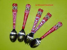 tacam Measuring Spoons, Ceramics, Handmade, Fimo, Ceramica, Pottery, Hand Made, Ceramic Art, Porcelain