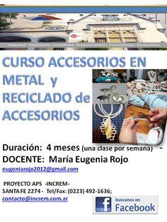 Accesorios en metal y reciclado de accesorios