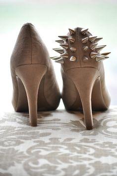 DIY spike heels.