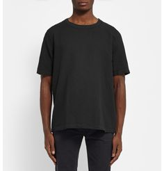 Our Legacy - Linen and Cotton-Blend T-Shirt |MR PORTER