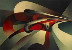 "The Strength of the Curve"". Tullio Crali. 1930."