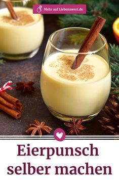 Eierpunsch: Mit diesem Rezept gelingt das Heißgetränk Not only with, but also without alcohol, you can easily make egg punch yourself as from the Christmas market. We'll tell you our favorite recipe. Authentic Mexican Recipes, Mexican Food Recipes, Ethnic Recipes, Eggnog Rezept, Whole30 Recipes Lunch, Easy Whole 30 Recipes, Alcohol, Winter Cocktails, Grilled Chicken Recipes
