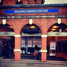 Golders Green London Underground Station