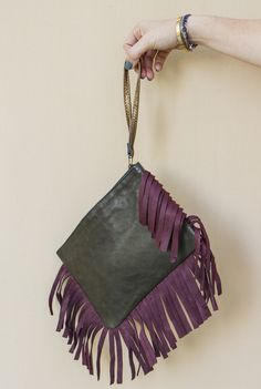 Leather Fringe Patchwork Clutch Leather Fringe, Nest, Vibrant Colors, Shop, Style, Scrappy Quilts, Nest Box, Swag, Vivid Colors
