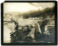 disasters | Train Wreck at the Lookout Mountain Tunnel, Chattanooga, Tennessee ...