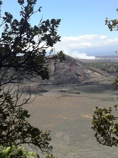 Kilauea Iki Trail, Hawaii Volcanoes National Park -great hike across a crater. Steam vents shooting steam out as you walk across...