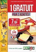Catalogue Supermarchés Match 1 gratuit pour 2 achetés ! du mercredi 26 novembre 2014 au samedi 6 décembre 2014 ( 26/11/2014 - 06/12/2014 )