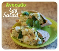 Avocado Egg Salad -