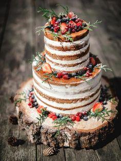 Naked Cake Hochzeits
