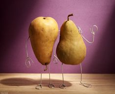 Perfect pair. Very clever and funny bent-object sculptures and photo scenes by Terry Border.