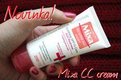 Mixa - upokojujúci krém proti začervenaniu s OF 15 - KAMzaKRÁSOU.sk #kamzakrasou #krasa #cosmetics #beauty #mixa #cc #cream #anti_redness #new