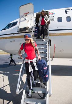 Ashlyn Harris -- We made it Vancouver. #USWNT -- Sqor Sports