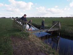 Langs het Pettepad De LAUWERS De grens van Groningen en Friesland. eigen foto.