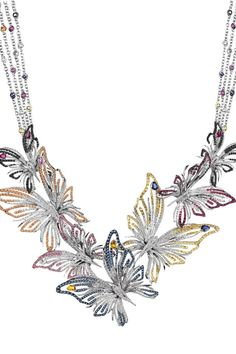 Butterfly Necklace Jewelry Art, Beaded Jewelry, Jewelry Accessories, Jewelry Necklaces, Jewelry Design, Nice Jewelry, Butterfly Jewelry, Butterfly Necklace, Necklace Drawing