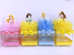 10 Pieces Disney Princess Birthday Goody by rizastouchofflair Disney Princess Birthday Party, Princess Theme Party, Cinderella Birthday, Baby Birthday, Birthday Party Decorations, Party Time, Princess Hair, Hair Clips, Snow White