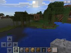 Awesome Minecraft PE seed: Two villages (one HUGE) and a Witch Hut! Minecraft Pe Seeds, Witch, Real Estate, Mansions, House Styles, Awesome, Kid Stuff, Manor Houses, Real Estates