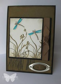 hand crafted card ... Asian Artistry ... kraft ... luv the knotted ribbon ... great card!!