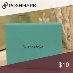 "Authentic Tiffany Box 3"" x 3.5"" x 1.25"" deep Tiffany & Co. Accessories"