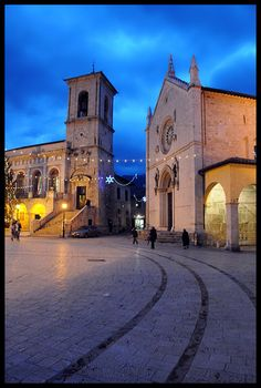 San Benedetto of Norcia, is a town n comune in de province of Perugia, in southeastern Umbria_ Italy