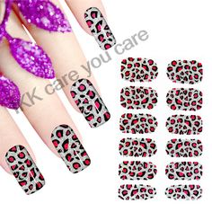 Find More Stickers & Decals Information about Nice Gel Nail Art Decoration Leopard Design Nail stickers patterns water transfer foil nail wraps adhensive foil jamberry nails,High Quality sticker name,China foil machine Suppliers, Cheap stickers create from IKK care you care on Aliexpress.com
