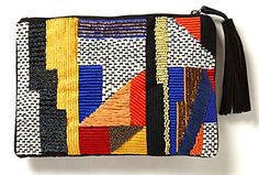 LE CATCH: artsy clutch from anthropology