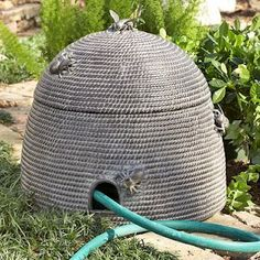 Bee skep for garden hose !!!!