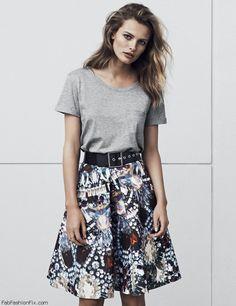 Edita Vilkeviciute for H&M autumn 2014 collection. #h&m