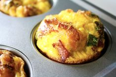 3-Ingredient Bacon & Egg Breakfast Muffins | Real Balanced