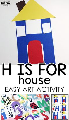 letter h craft h is